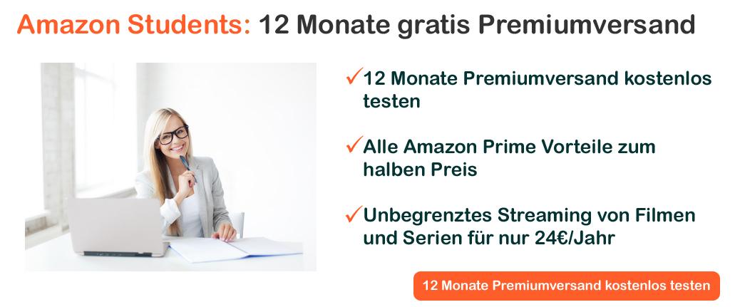 Amazon Students kostenlos testen